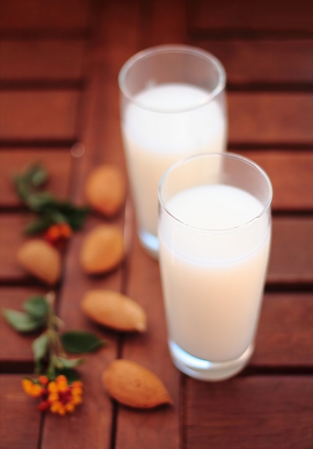 latte di mandorla homemade