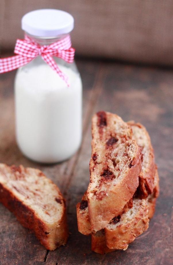 pane dolce cioccolato e vaniglia
