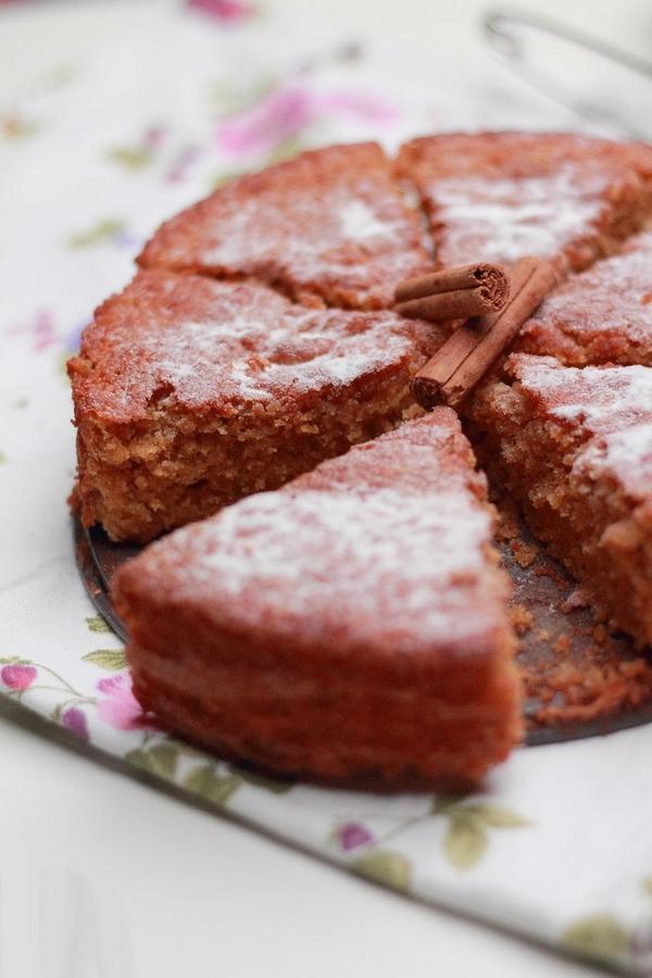 torta pompelmo cannella