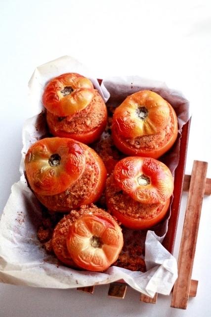 pomodori ripieni pangrattato caciocavallo