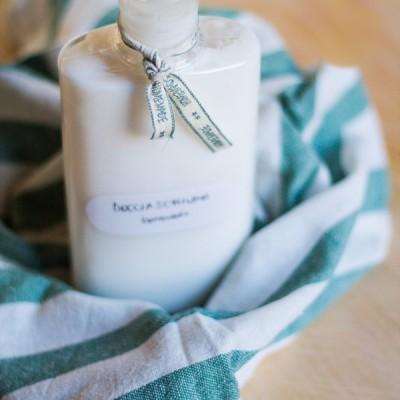 Docciaschiuma fatto in casa da sapone solido