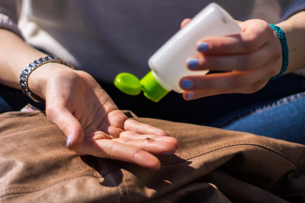 gel igienizzante mani homemade